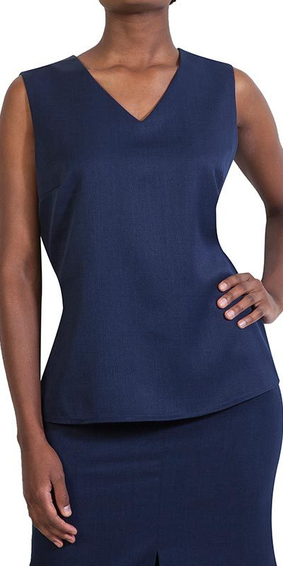 gammi tunic navy front